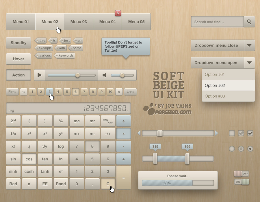 Soft_Beige_UI_Kit