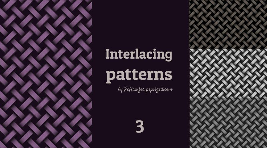 Subtle interlacing patterns 3