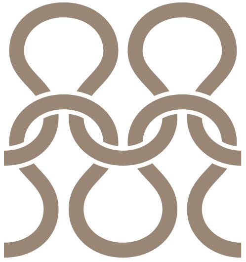 Create an intertwining knitting pattern