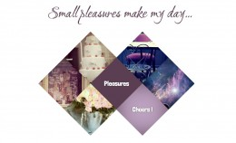 Small pleasures make my day - tutorial preview