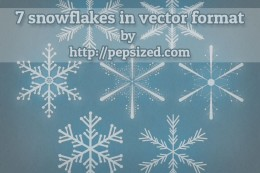 Free Snowflake Vector