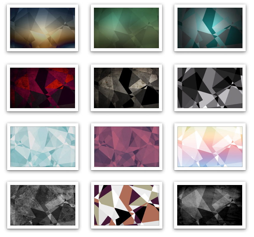 Abstract geometric backgrounds - 12/50 examples
