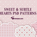 Sweet and subtle free photoshop patterns
