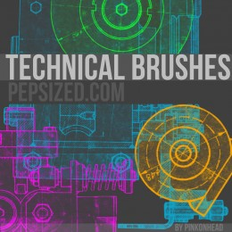 technical PS brushes