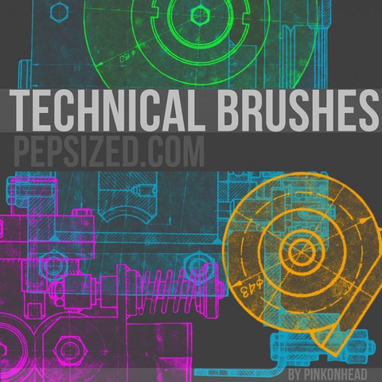 Free Technical Ps Brushes Pepsized