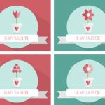 valentine free vector