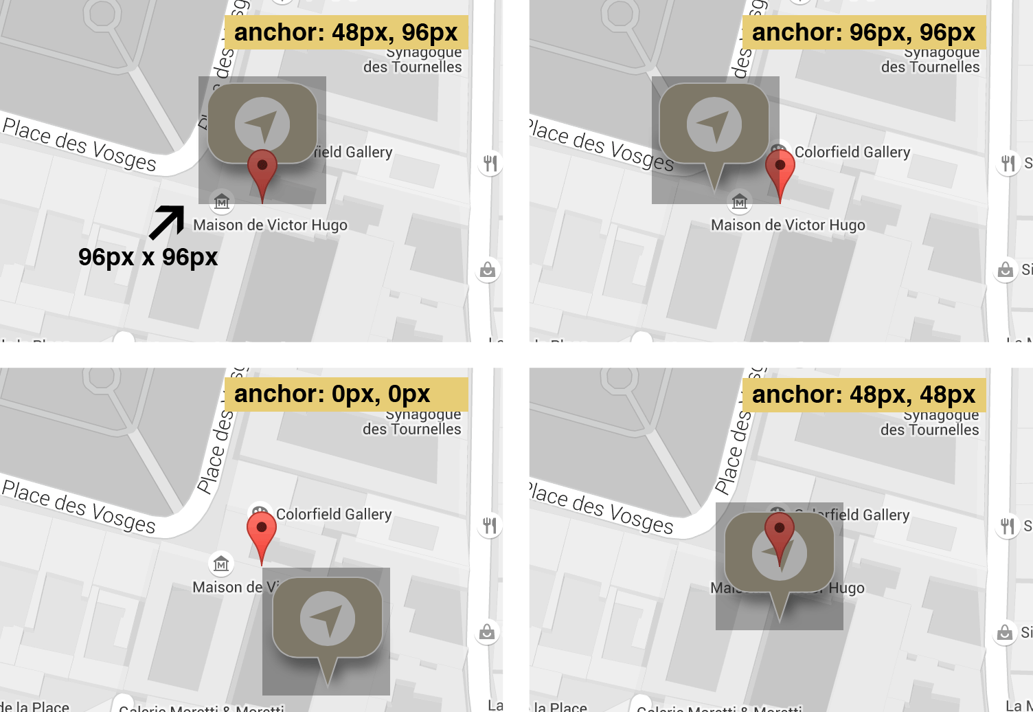 Customize Your Google Map Markers  PEPSized - Google map user location