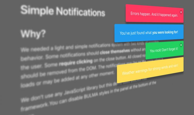 Simple Solution for Page Notifications – PEPSized